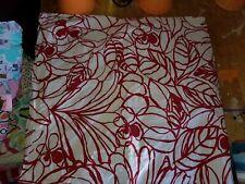"""West Elm """"Red Sketch"""" Euro Pillow Sham"""