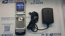 Motorola Moto KRZR K1M Verizon Wireless Flip Cell Phone Camera W/Charger