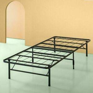 Zinus SmartBase 14 inch Twin Platform Bed Frame - Black
