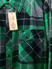 Dickies Plaid Flannel Green Black Long Sleeve Shirt Nwt Xl L M