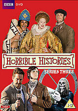 Horrible Histories Complete 3rd Series Dvd Brand New & Factory Sealed