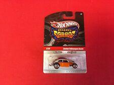 1:64 Hot Wheels Larry's Garage Signed Chase Custom VW Beetle Silver & Orange