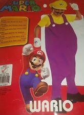 Toddler/Boy's Super Mario Bros WARIO Deluxe Halloween Costume Size 4-6 Small