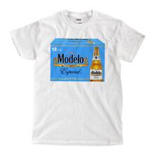 Modelo Especial - 12 pack - bottles - White T-Shirt - Ships Fast! High Quality!