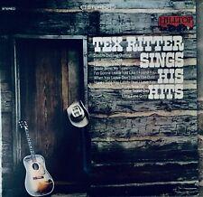 Tex Ritter   Sings His Hits   Vinyl   Lp