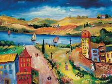 Oleg Nikulov- River View | Giclee on Canvas Signed & Numbered  | COA