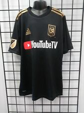adidas 2019 LAFC YOUTH HOME JERSEY (DY0310) SIZE YL
