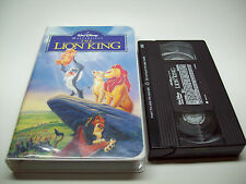 Walt Disney Masterpiece The Lion King TESTED Works Perfectly (VHS, 1995)