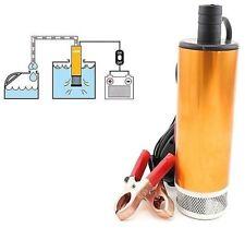 PDR* Pompa Travaso Liquidi Elettrica Carburante ACQUA OLIO DIESEL 12V AUTO BARCA