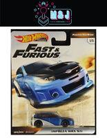 Hot Wheels Fast & Furious- Furious Off Road Impreza WRX STI  (Aus Seller)