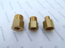 "Brass Reducing Adaptor 1/4"" BSP Female to 1/8"" BSP Male Coffee Machine Maker R"