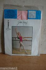 GILDA MARX FULL FOOT BALLET/DANCE TIGHTS  SIZE 4-6 PARIS PINK