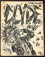 CLYDE The PIZZ signed numbered 33/50 1984 Small Press Mini-Comic Very Rare VF-