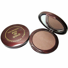 POT OF GOLD Bronzer Compact Pressed Bronzing Powder Face & Body Sunkissed Look