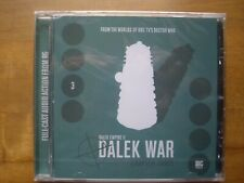 Doctor Who Dalek Empire 2.3, Dalek War, Big Finish audio book CD *SEALED*