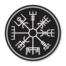 2x Vegvisir- Icelandic Compass- cool, Viking vinyl car, van decal sticker