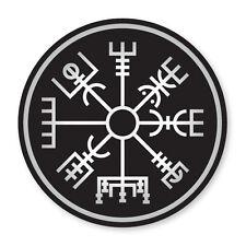 2x Vegvisir- Icelandic Compass- cool, Viking vinyl car, van decal sticker