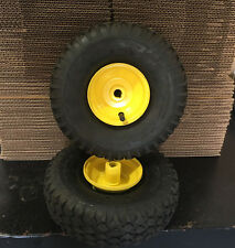 2 NEW TIRES 4.10/3.50-4 & 2 NEW TUBES FOR GO KART GO CART with Wheels
