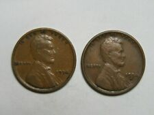 1934 Lincoln Wheat Cents - P&D