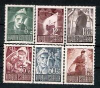 AUSTRIA  1947 Prisoners of War  - Superb Set MNH!