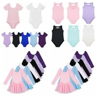 Kid Girls Ballet Leotard Tutu Dress Ballerina Dancewear Gymnastic Skirt Costume
