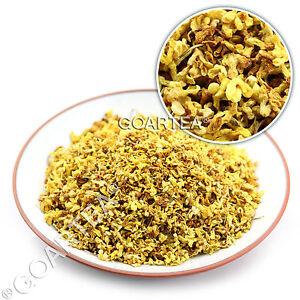 GOARTEA Organic Golden Sweet Osmanthus Fragrans Dried Chinese Herbal Flower Tea