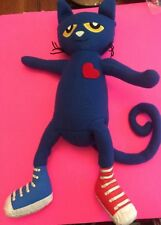 MERRY MAKERS PETE THE CAT I LOVE MY WHITE SHOES CHILDREN BOOK PLUSH DOLL FIGURE