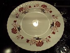 "Royal Crown Derby Bali Boston Swirl 10.5"" Dinner Plates (12) Made in England"