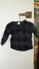 Country Road Baby Flannel Shirt 0-3M