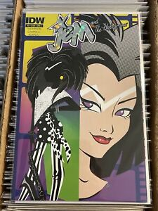 JEM and the HOLOGRAMS #2 AMY MEBBERSON HOLOGRAM FOIL VARIANT COVER E 2015 IDW