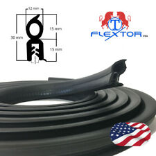 15ft Cars Accessories Rubber Seal Steel Edge Trim Soundproofing Weatherstrip