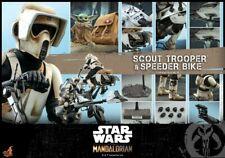 Hot Toys  Figure  soldier1/6 TMS017 Mandalorian Scout Trooper & Speeder Bike