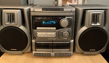 AIWA NSX-S202 Stereo System Hi-fi CD 3 Disc Tape Record Player -CD FAULT