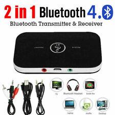 2in1 HiFi Sans Fil Bluetooth Audio Émetteur Récepteur 3.5mm RCA Musik Adaptateur
