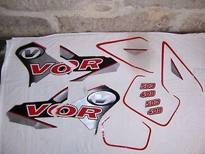 Dekor Kit VOR EN MX 503 400 00-02 Vertemati 98-99 Aufkleber decal kit NEU Tank