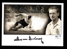 Tom Finney Autogrammkarte England WM 1950 1954 Original Signiert+A 152787