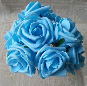 Bouquet Foam Roses Hand Bouquet Making Materials Wedding Decoration Bouquet YO