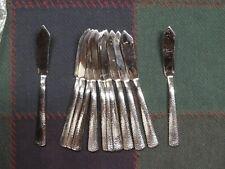 12 Pinehurst Pattern Stainless Flatware, Usa - Individual Butter Knives, New 2nd