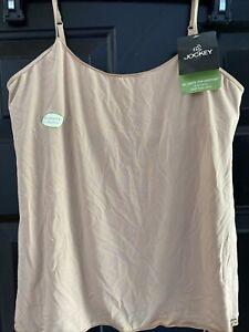 Women's Jockey No Panty Line Promise Shelf Bra Camisole - MSRP:  $26 - NWT