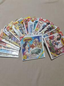"""Lote de """"Historietas Del Libro Vaquero""""$120 consta de 20 historietas o de una×5"""