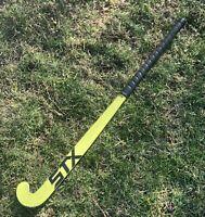 "STX Stallion 100 Series Yellow/Black Field Hockey Stick 37"""