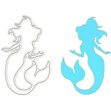 Lovely Mermaid Embossing Cutting Dies Stencils Metal Fashion DIY Scrapbooking