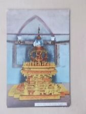 VINTAGE POSTCARD - ANCIENT RELICS IN THE SHWEBO MUSEUM - BURMA - MYANMAR