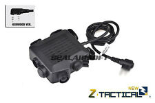 Z Tactical SELEX TACMIC CT5 Headset Cable & PTT (Kenwood Version) Z133-KW