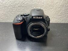 Nikon D5600 24.2MP Digital SLR Camera - Black (Body Only) Free Ship