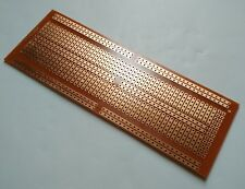 4.8x13.4cm Stripboard Prototype paper circuit perf board Bus Breadboard vero pcb