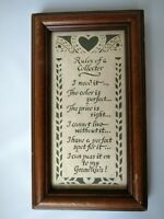 Vintage 1996 Scherenschnitte Designs with Scissors Rules Of A Collector Framed