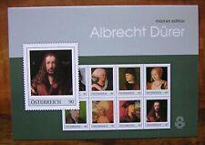 ME8 - Albrecht Dürer - Markenedition Österreich 8W KB PM  Dezember 2019**