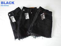 Vintage Womens Levis Denim High & Mid Waist cut off  Shorts , Hotpants 4 6 8 10