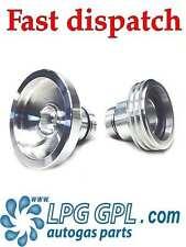 GLP GPL Relleno punto Adaptador Reino Unido a Europa combinación Propano Autogas Set De 2